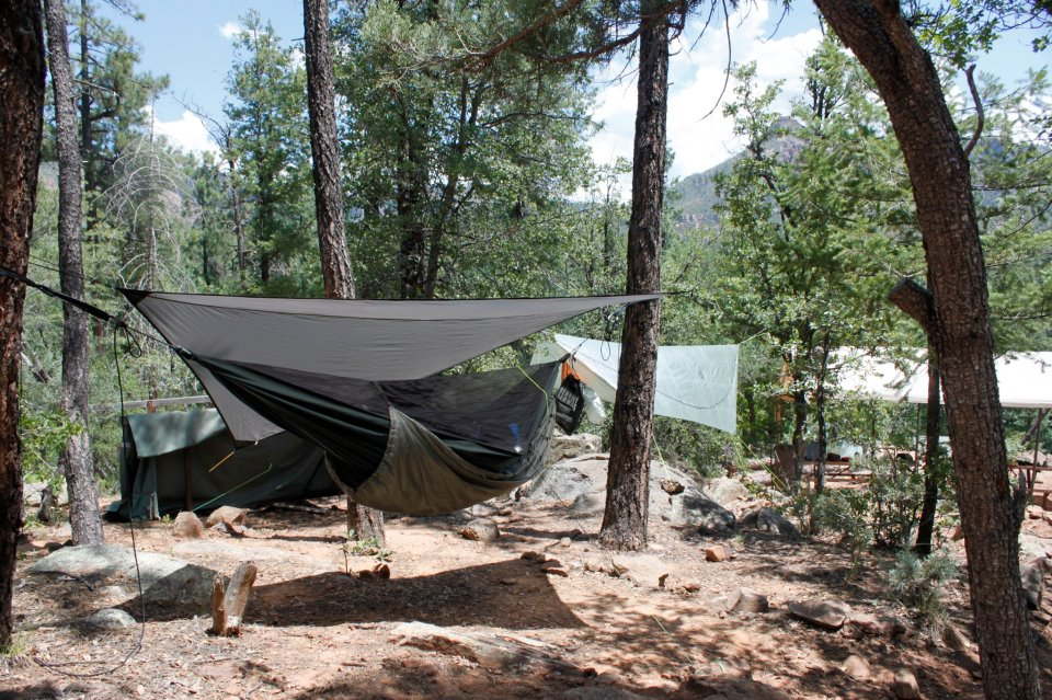 & Hammock Camping at Boy Scout Camp Geronimo 2012 - The Ultimate Hang