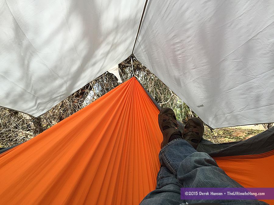 how to make a hammock rain fly