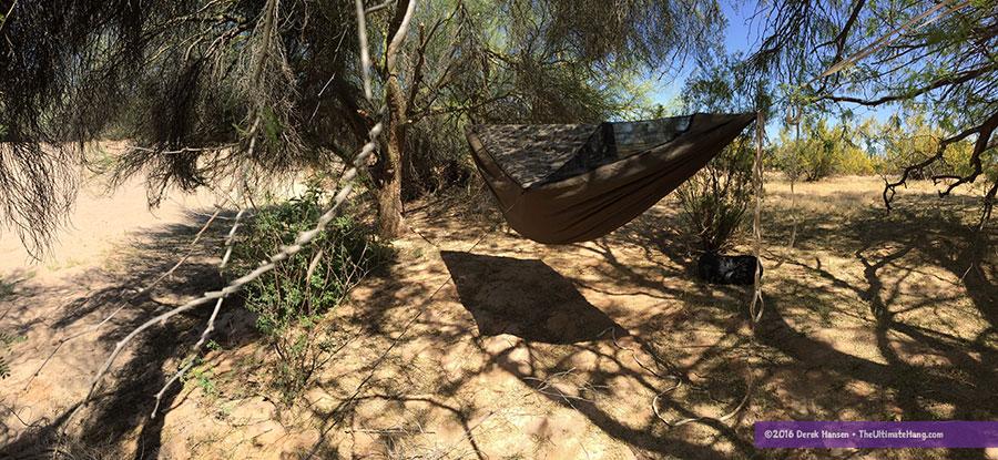 Trip Report Sonoran Desert Hammock Camping The