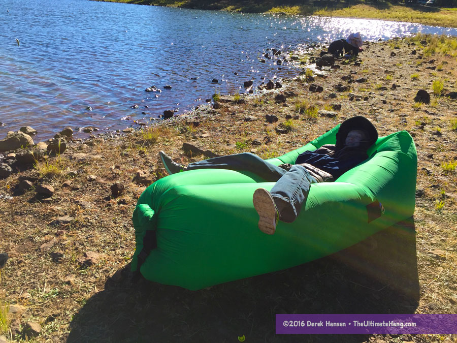 Air Nest Inflatable Hammock Lounger Review The Ultimate Hang