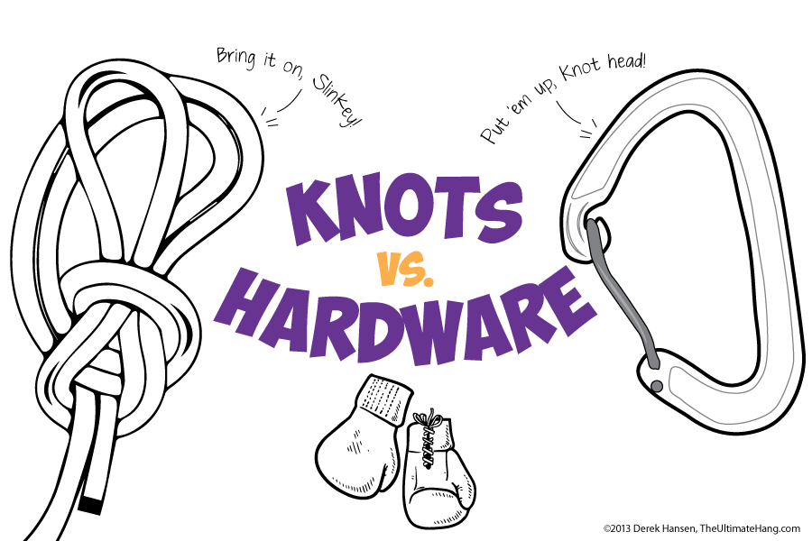 Knots Vs Hardware The Ultimate Hang
