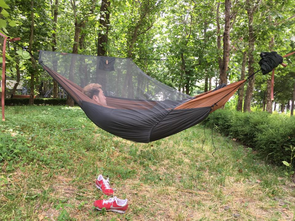 Diy Hammock Half Bug Net Hug Instructions The Ultimate