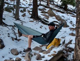 Derek Hansen, author of The Ultimate Hang: An Illustrated Guide to Hammock Camping